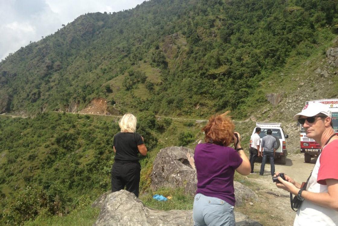 Kathmandu – Dhunche - Syabrubesi by Jeep