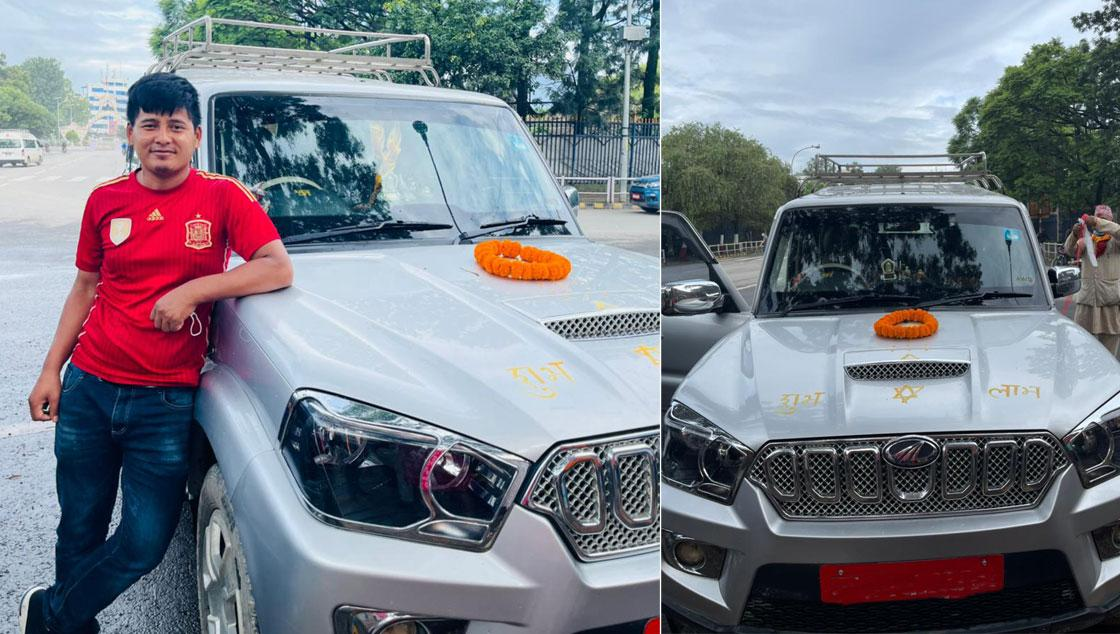 Scorpio Jeep on Rent with driver